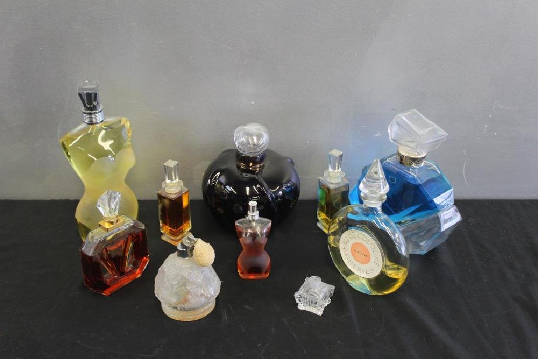Vintage Grouping of Perfume Bottles.