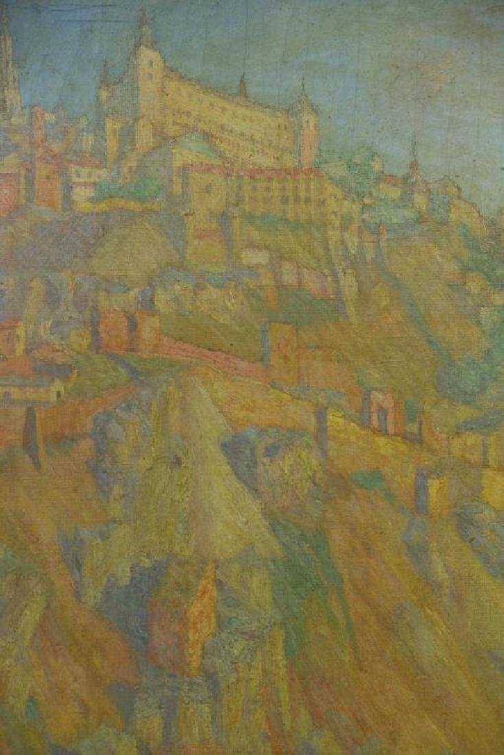 "FREDER, Frederick. Oil on Canvas ""Sunrise, - 3"