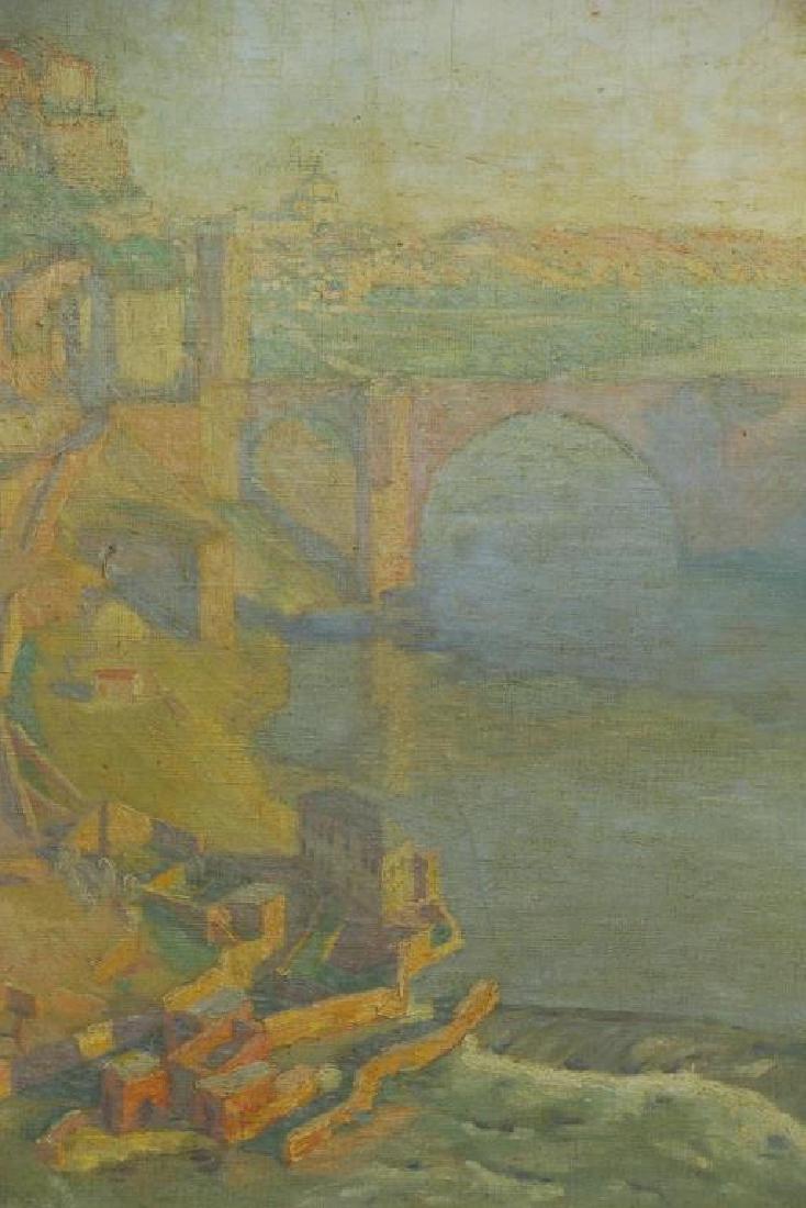 "FREDER, Frederick. Oil on Canvas ""Sunrise, - 4"