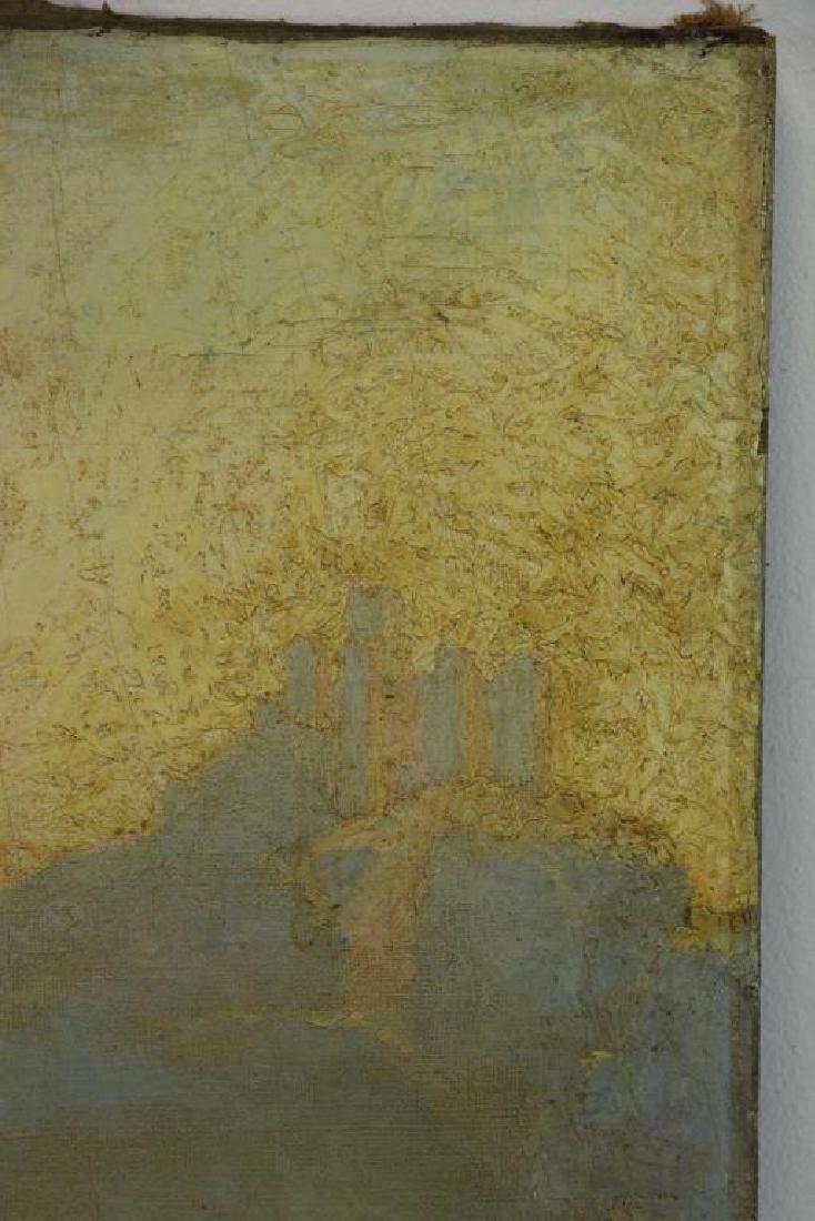 "FREDER, Frederick. Oil on Canvas ""Sunrise, - 5"
