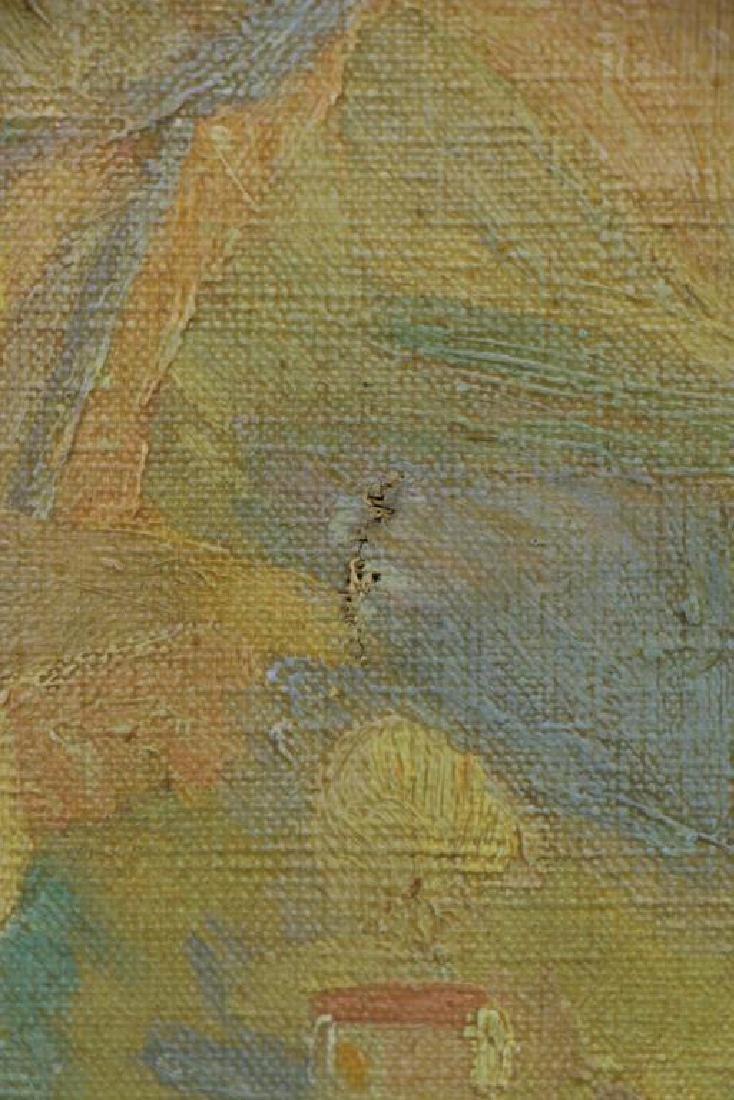 "FREDER, Frederick. Oil on Canvas ""Sunrise, - 7"