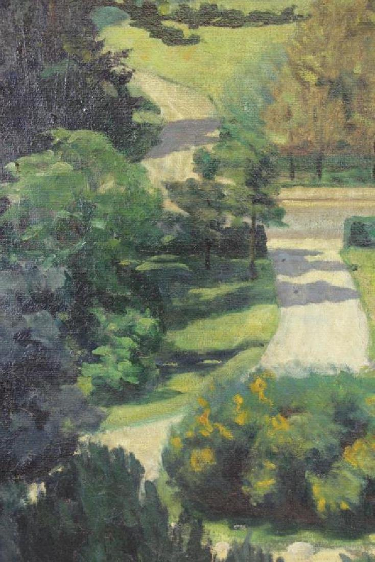 FREDER, Frederick. Oil on Canvas. Landscape with - 4