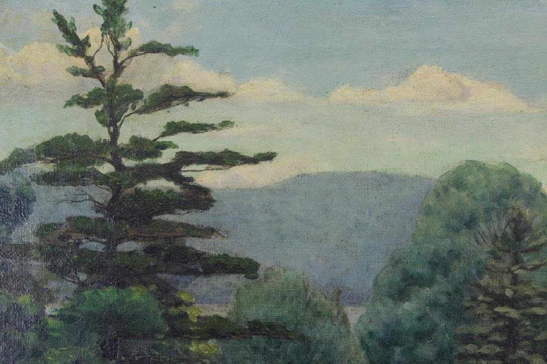 FREDER, Frederick. Oil on Canvas. Landscape with - 5