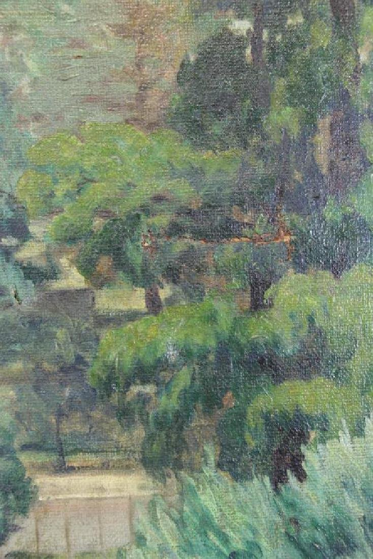 FREDER, Frederick. Oil on Canvas. Landscape with - 6