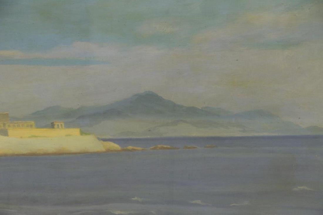 """FREDER, Frederick. Oil on Canvas. """"La Cote - 4"""