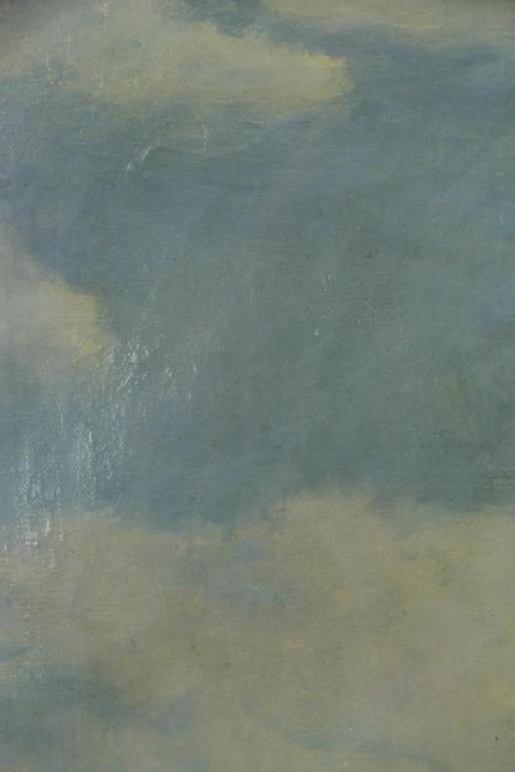"""FREDER, Frederick. Oil on Canvas. """"La Cote - 6"""