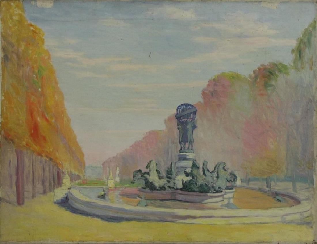 FREDER, Frederick. Four Oil on Canvas Landscapes. - 5