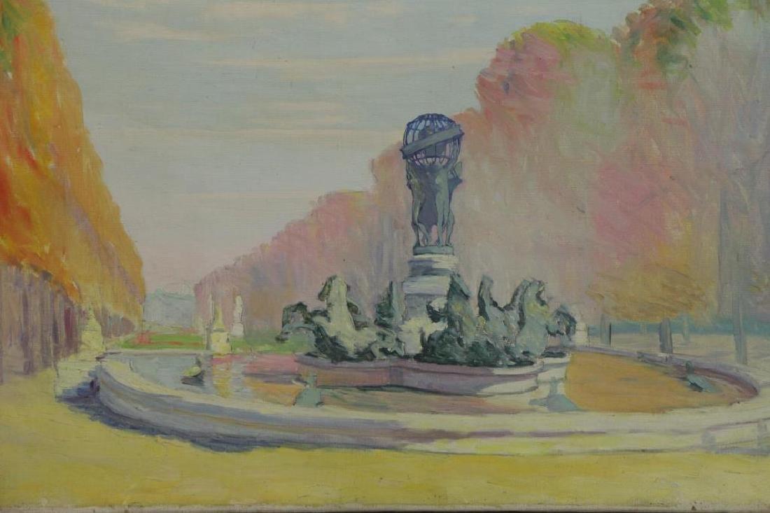 FREDER, Frederick. Four Oil on Canvas Landscapes. - 6