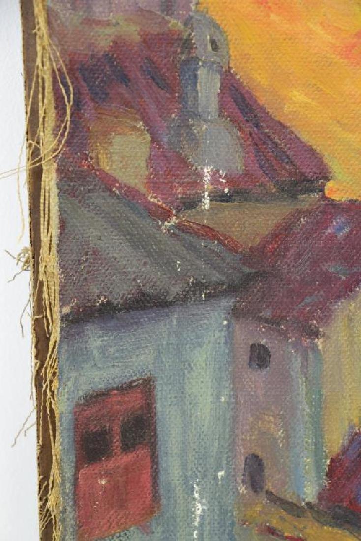 FREDER, Frederick. Four Oil on Canvas Landscapes. - 9