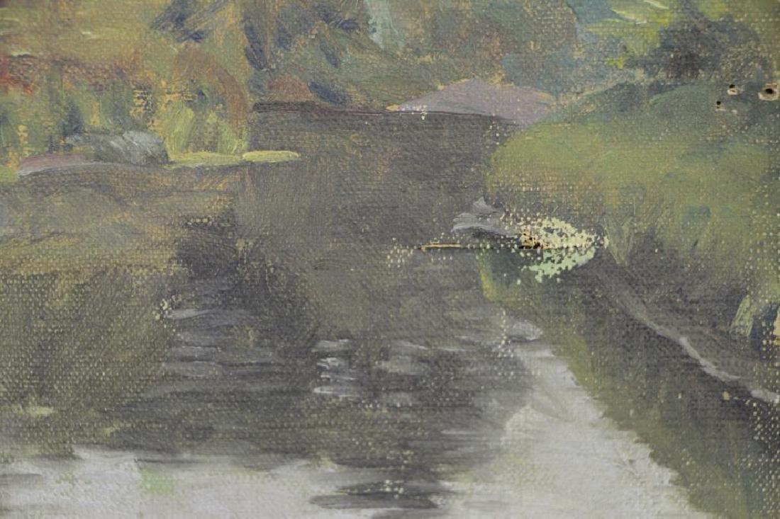 FREDER, Frederick. Four Oils on Canvas. - 10
