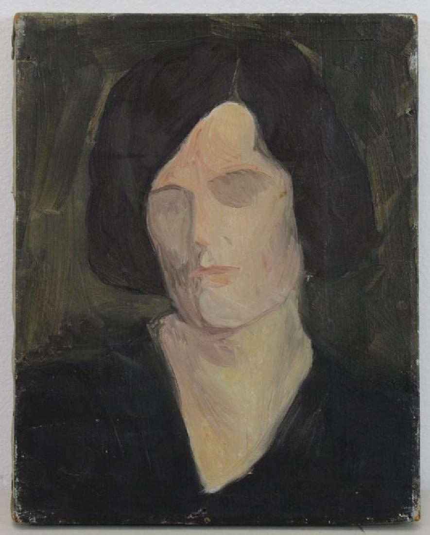 FREDER, Frederick. Four Oils on Canvas. - 11