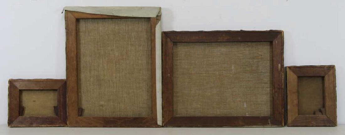 FREDER, Frederick. Four Oils on Canvas. - 12