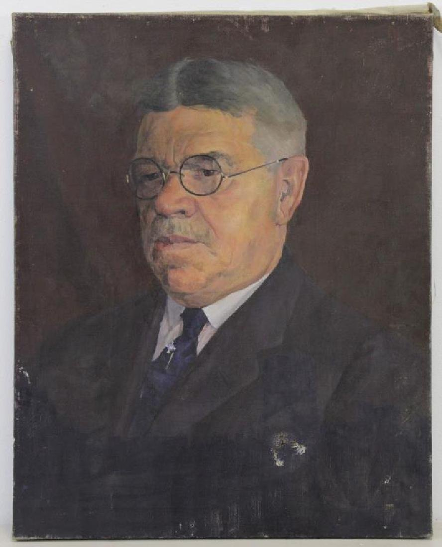 FREDER, Frederick. Four Oils on Canvas. - 3
