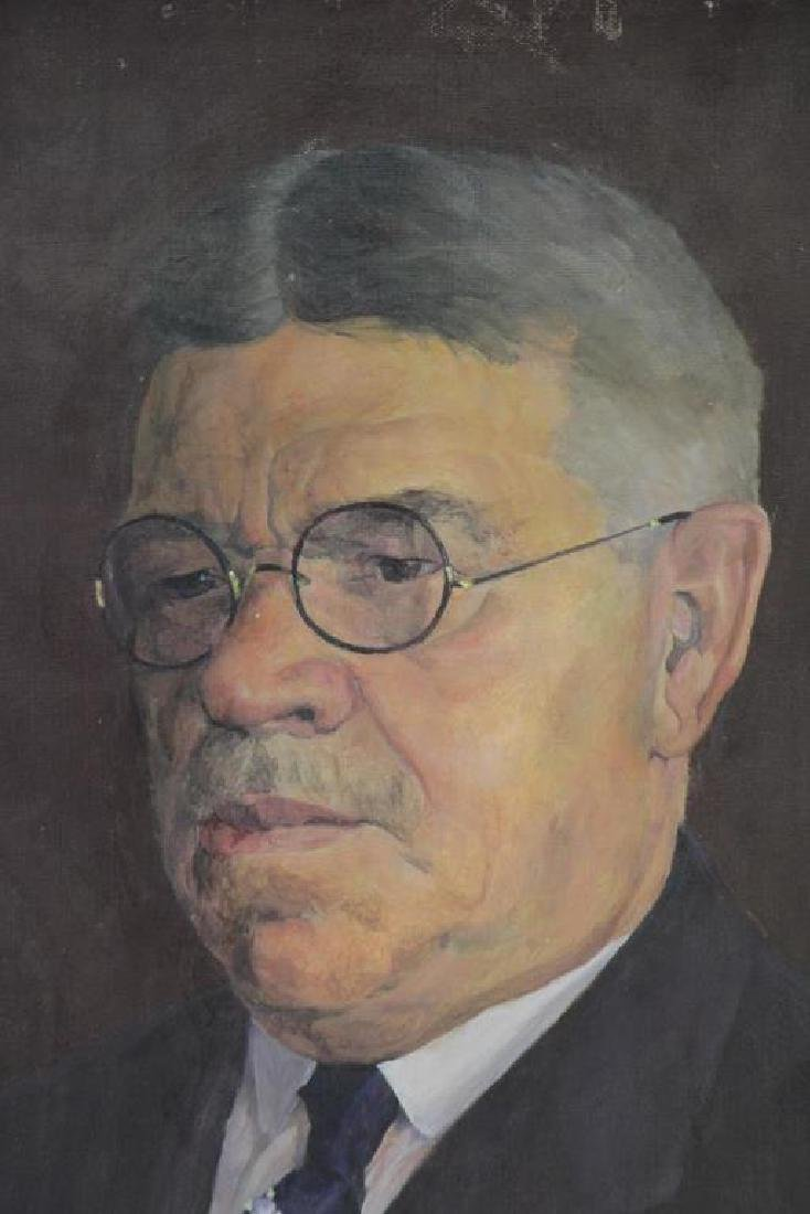 FREDER, Frederick. Four Oils on Canvas. - 4