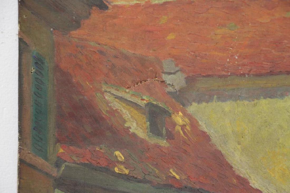 FREDER, Frederick. Four Oils on Canvas. - 7