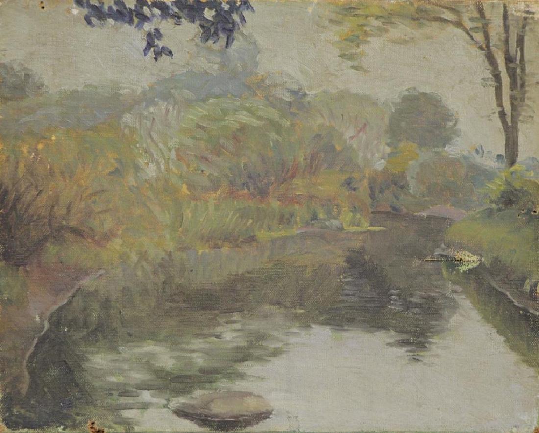 FREDER, Frederick. Four Oils on Canvas. - 9