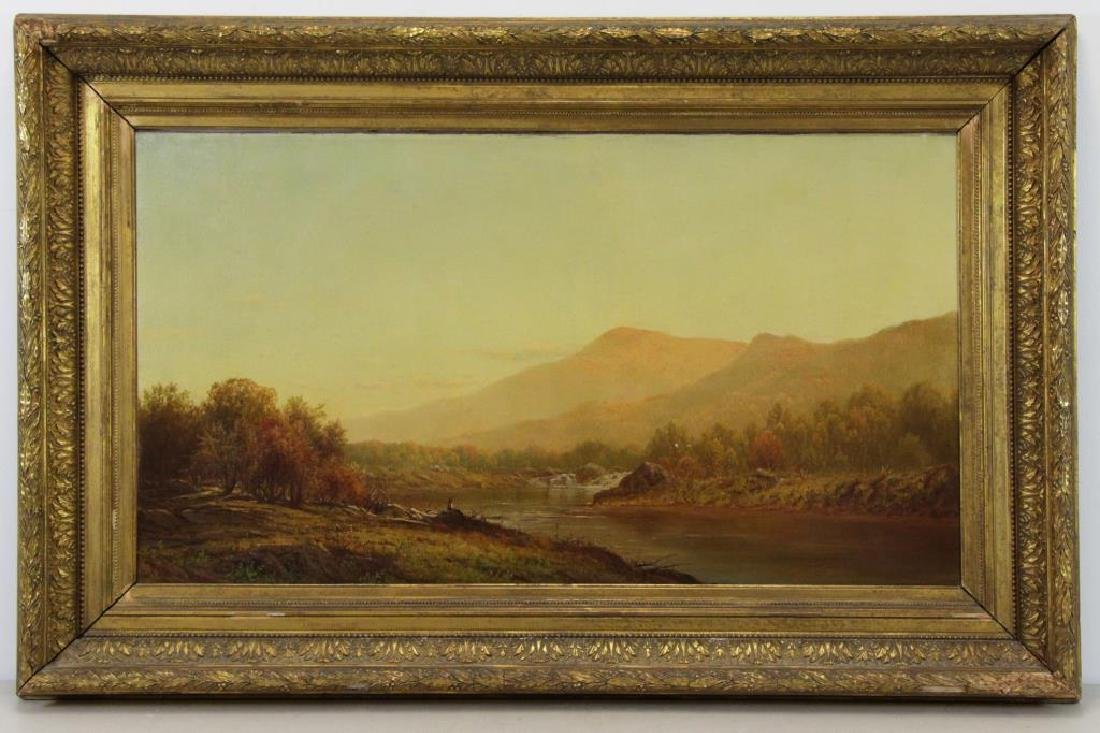 KNAPP, Charles W. Oil on Canvas. Bear Mountain. - 2
