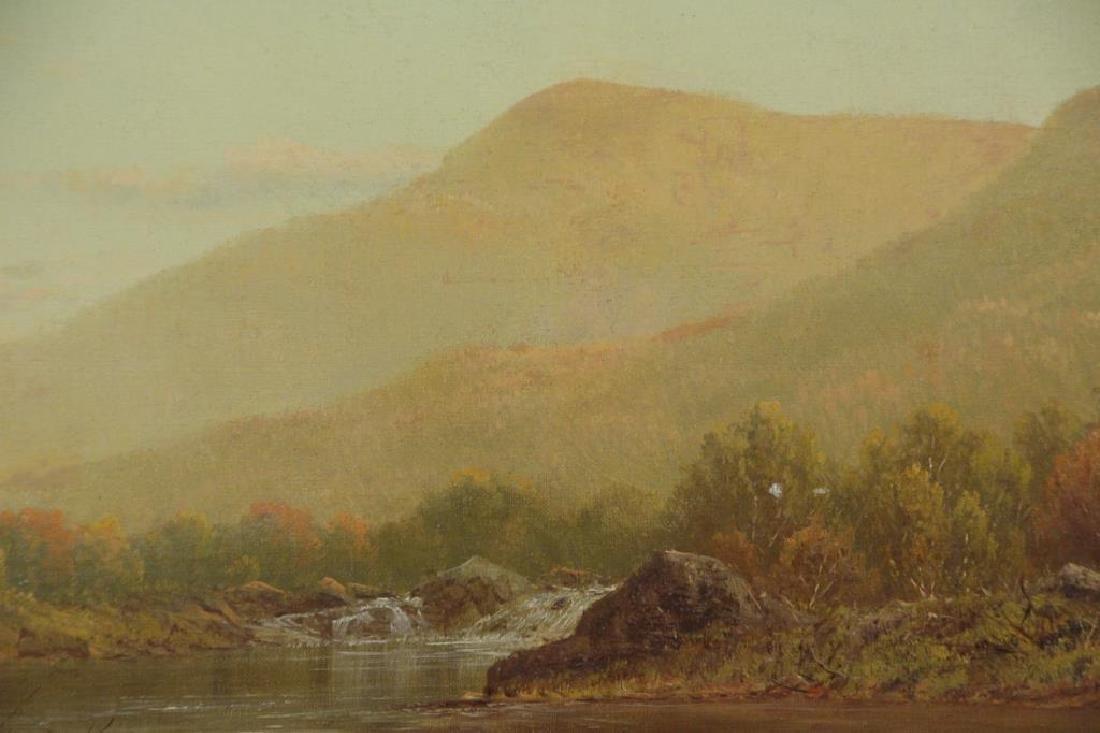 KNAPP, Charles W. Oil on Canvas. Bear Mountain. - 3
