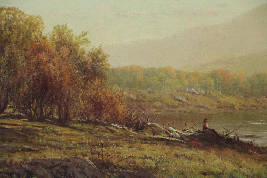 KNAPP, Charles W. Oil on Canvas. Bear Mountain. - 4