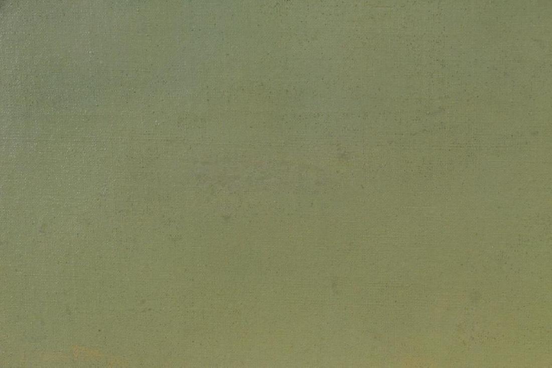 KNAPP, Charles W. Oil on Canvas. Bear Mountain. - 7