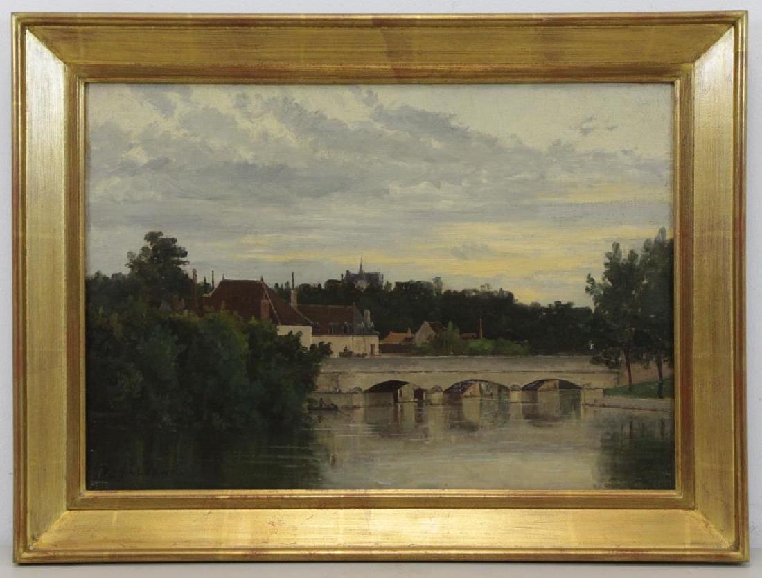 GALERNE, Prosper. Oil on Canvas. Saint Menard - 2