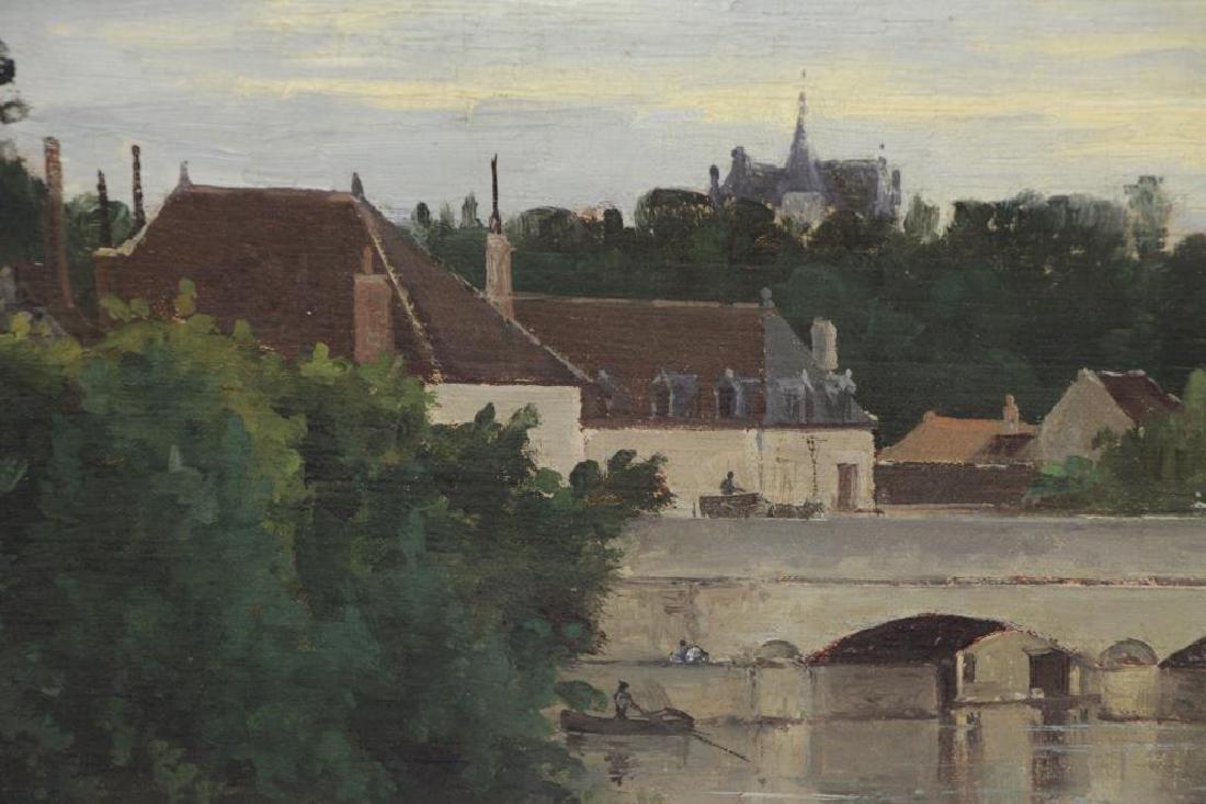 GALERNE, Prosper. Oil on Canvas. Saint Menard - 3