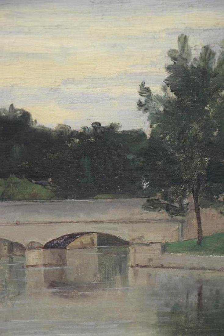 GALERNE, Prosper. Oil on Canvas. Saint Menard - 4