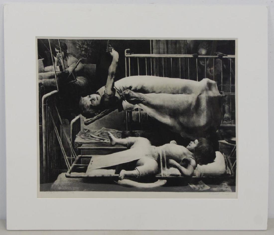 RIGGS, Robert. Lithograph. Children's Ward. - 2