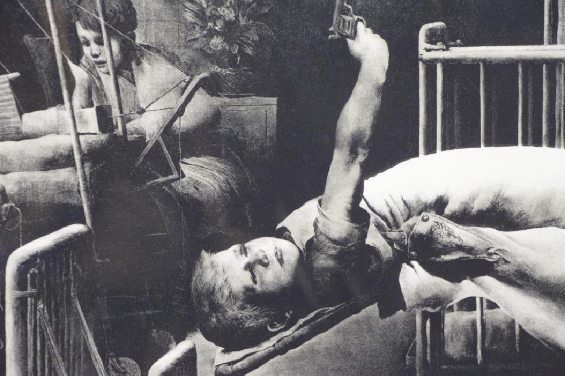 RIGGS, Robert. Lithograph. Children's Ward. - 3