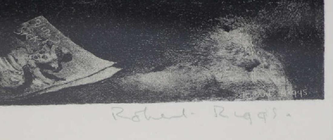 RIGGS, Robert. Lithograph. Children's Ward. - 5