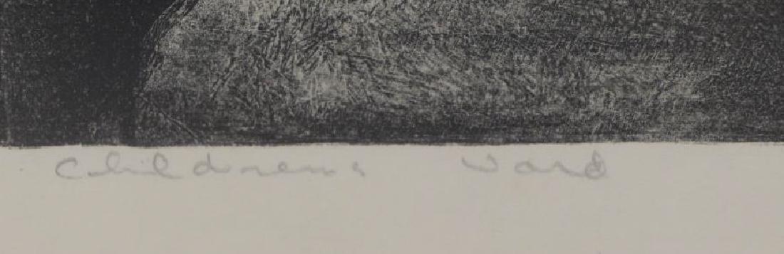 RIGGS, Robert. Lithograph. Children's Ward. - 6