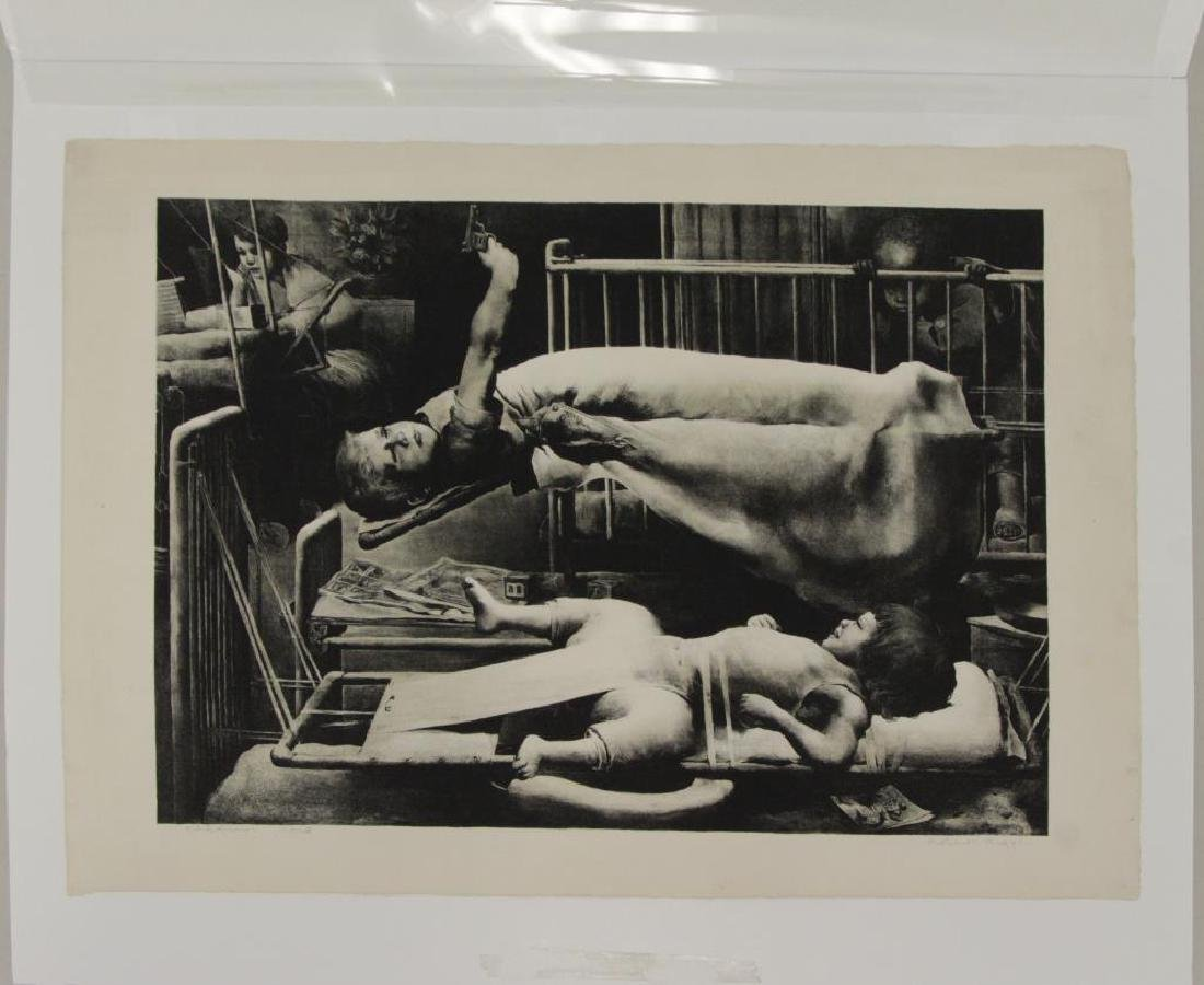 RIGGS, Robert. Lithograph. Children's Ward. - 7