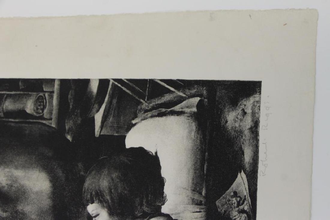 RIGGS, Robert. Lithograph. Children's Ward. - 9