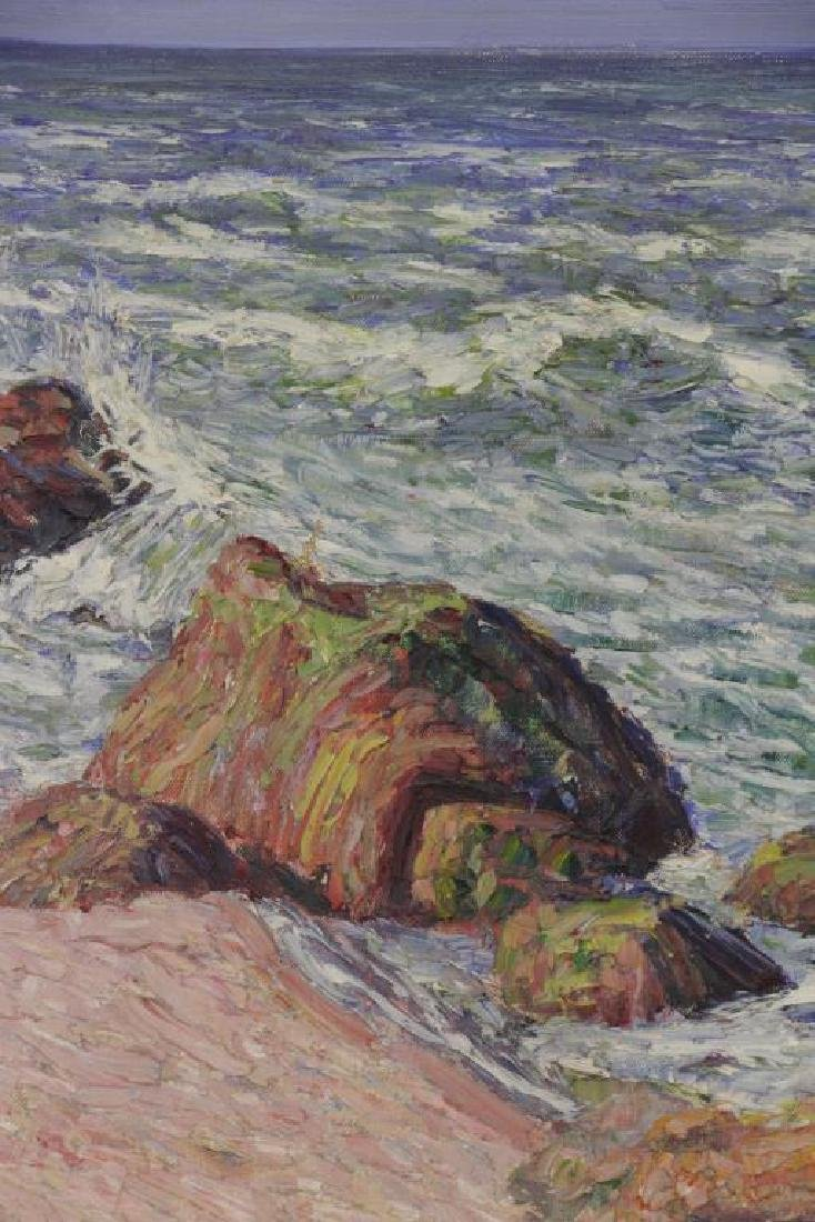 WILLIAMS, Robert F. Oil on Canvas. Seascape. - 3