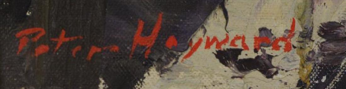 HAYWARD, Peter. Oil on Canvas. New York Street - 5
