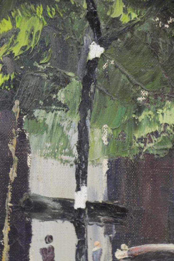 HAYWARD, Peter. Oil on Canvas. New York Street - 6