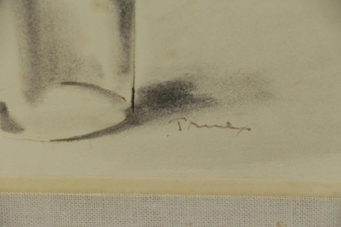 TRUEX, Van Day. Two Ink Wash Drawings on Paper. - 8