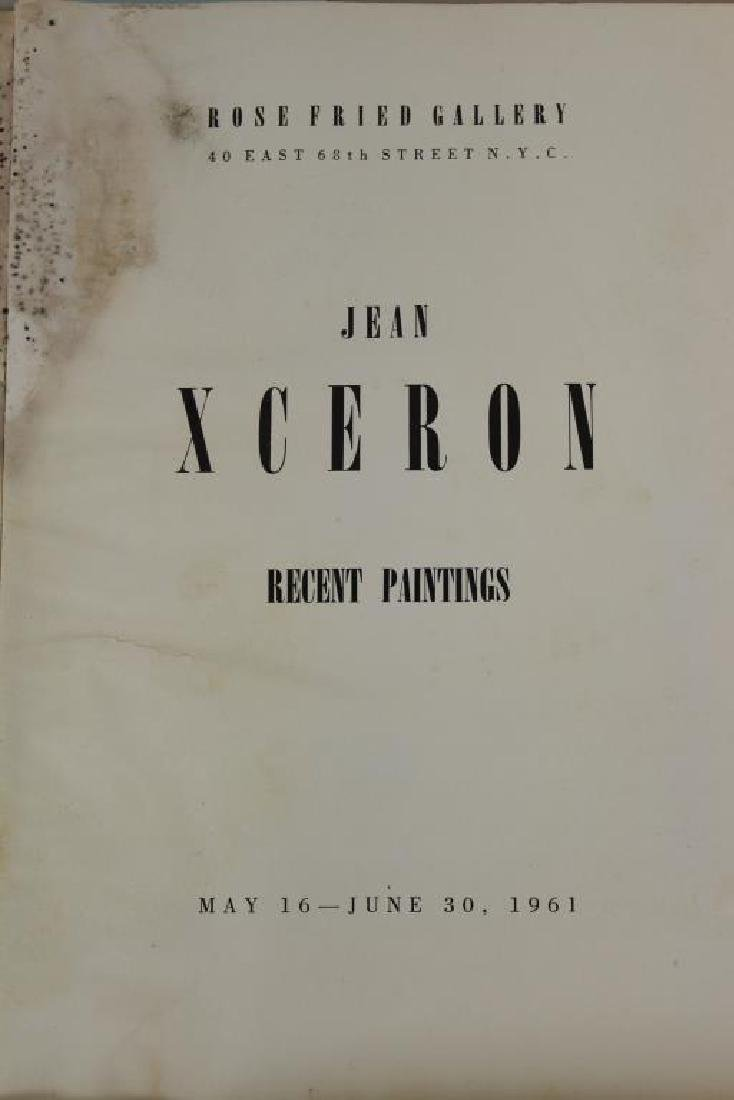XCERON, Jean. Large Collection of Works on Paper - 6