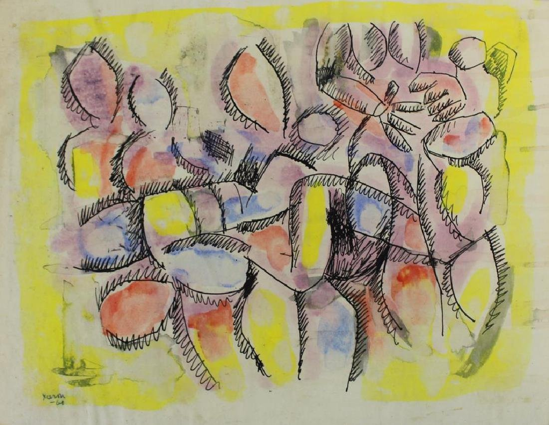 XCERON, Jean. Large Collection of Works on Paper - 8