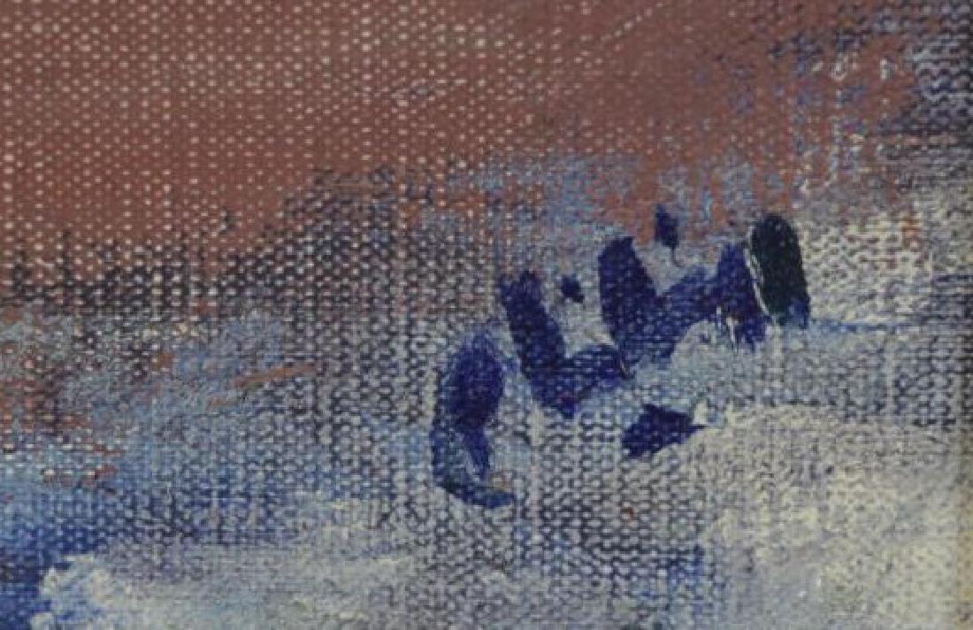 """PHILIPP, Robert. Oil on Canvas. """"Trees"""" 1964. - 4"""