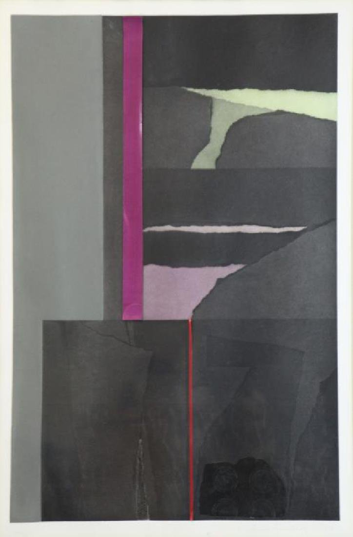 "NEVELSON, Louise. Two (2) ""Aquatints"" Series - 6"