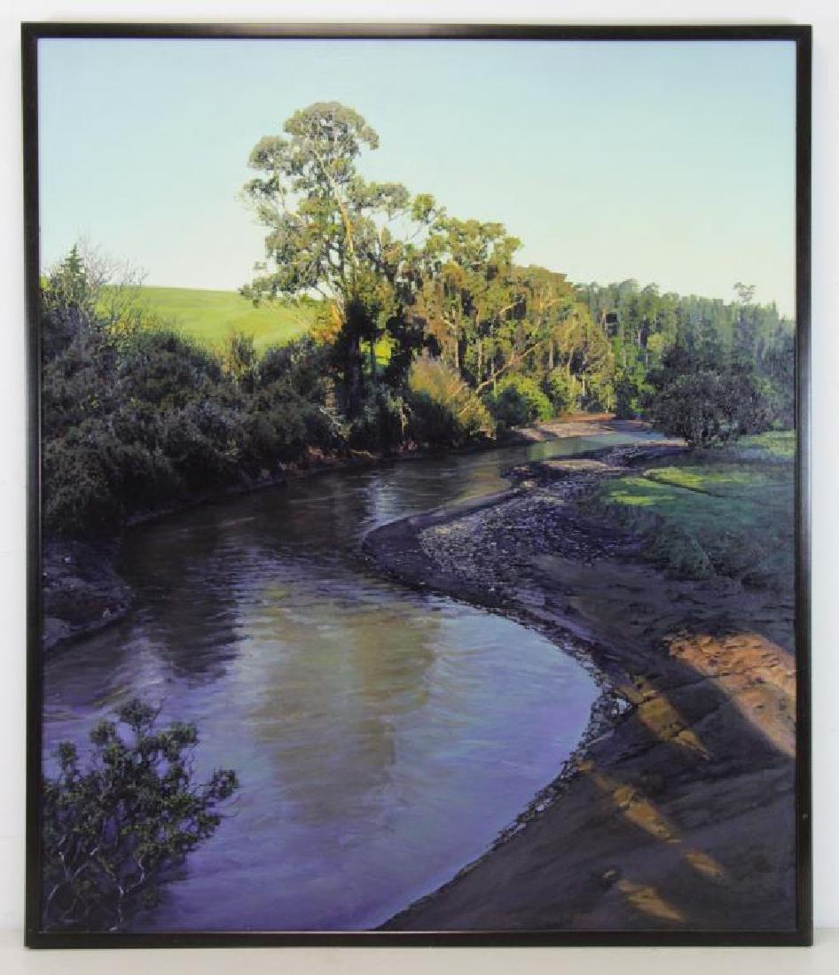 """ANDERSON, Brooks. Oil on Panel. """"Ventana"""" - 2"""
