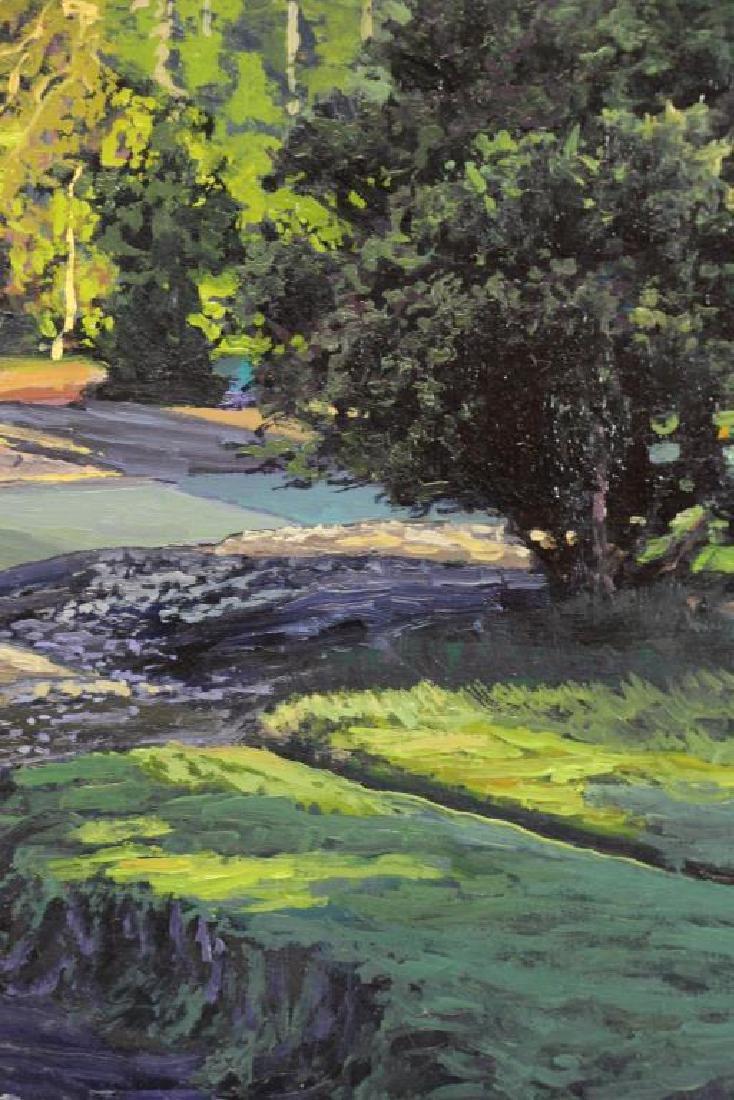 """ANDERSON, Brooks. Oil on Panel. """"Ventana"""" - 4"""