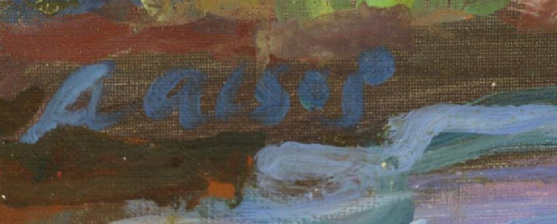 ALSOP, Adele. Two (2) Oil on Canvas Landscapes. - 4