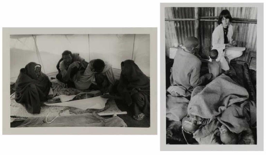 SALGADO, Sebastian. Two (2) Photographs of the