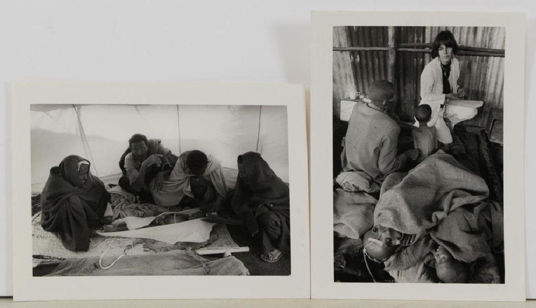 SALGADO, Sebastian. Two (2) Photographs of the - 2