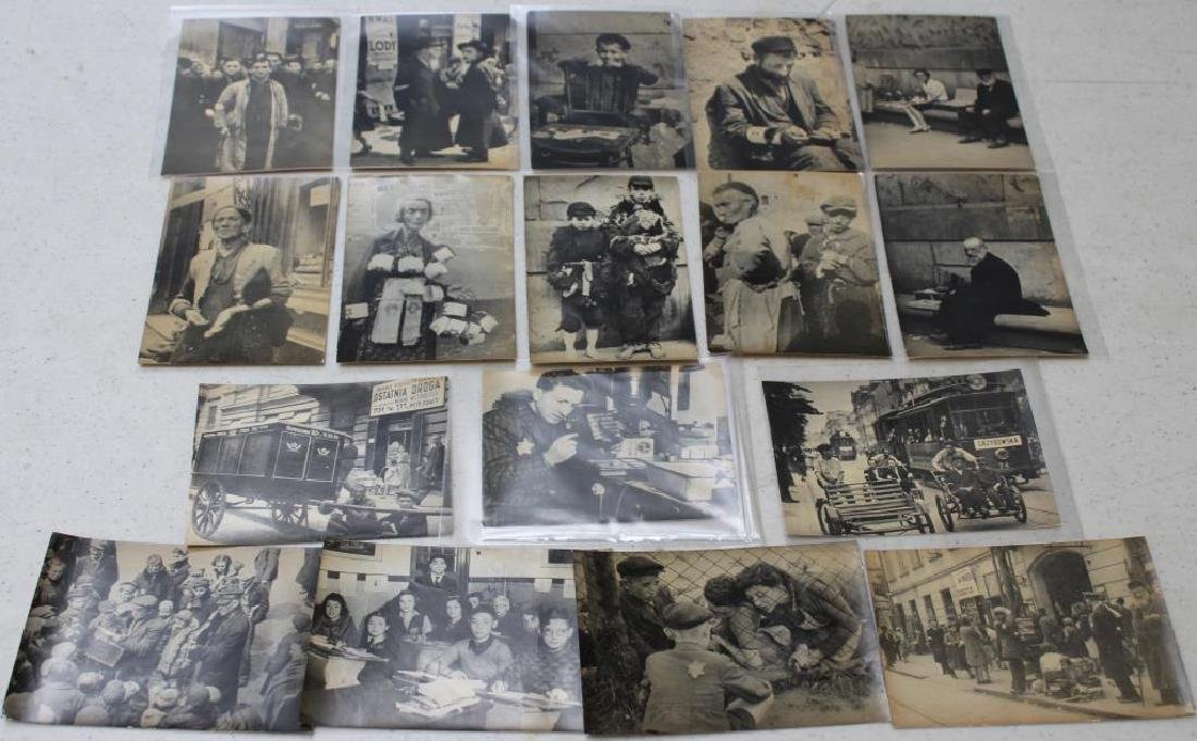 Collection of Warsaw Ghetto Photographs, 1942.