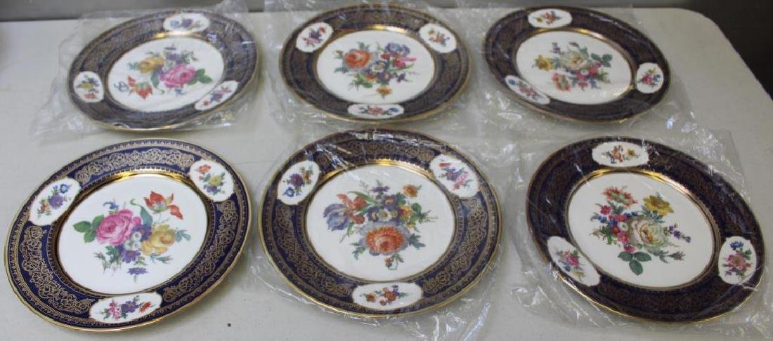 12 Cauldon Ltd. Dinner Plates & 6 Caverswall - 3