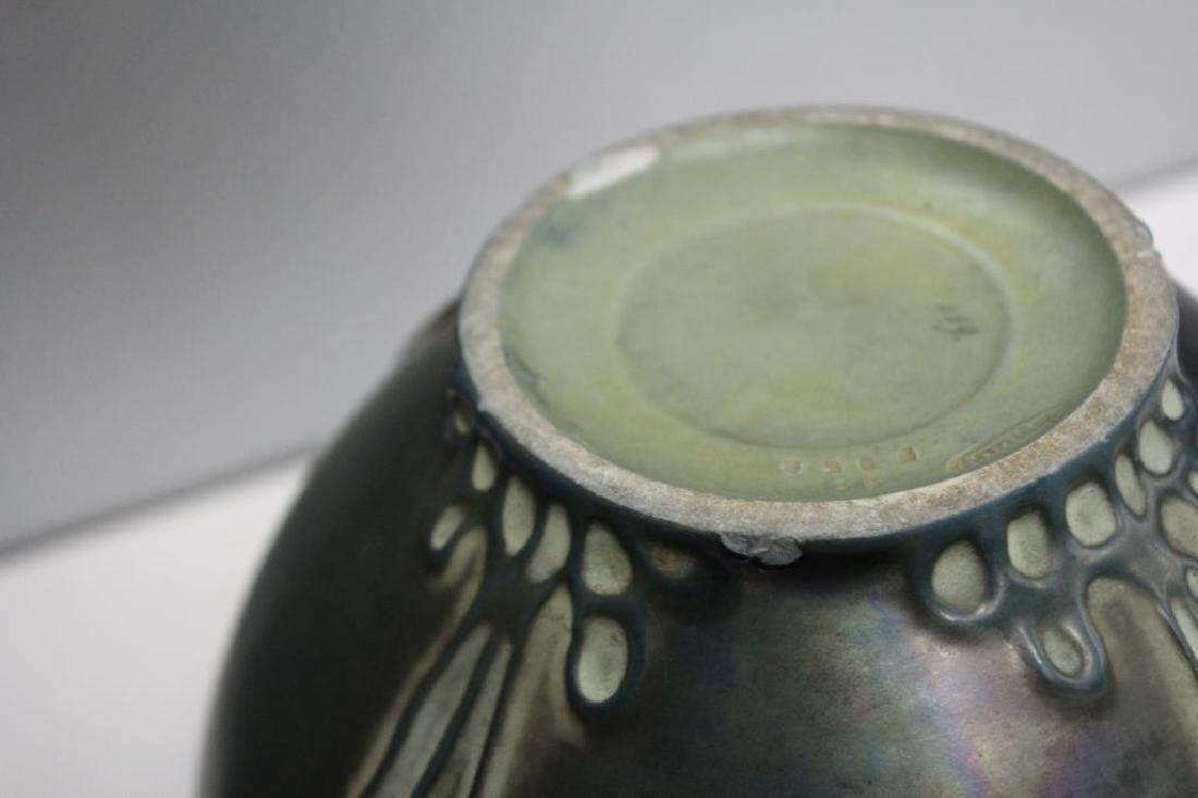 AMPHORA. Signed Pottery Vase. - 8