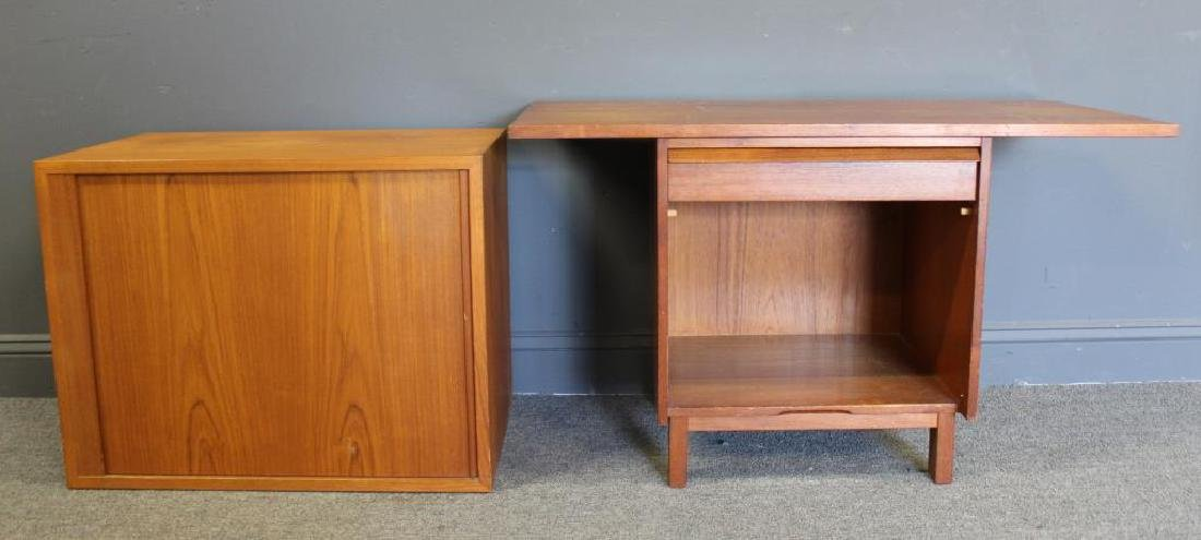 MIDCENTURY. 2 Signed Cabinets.